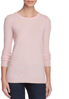 C By Bloomingdale's Cashmere Crewneck Sweater - 100% Exclusive $158 thestylecure.com