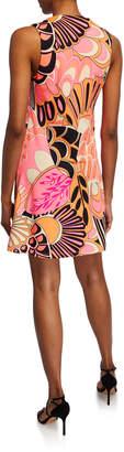 Julie Brown Liviec Printed A-Line Dress