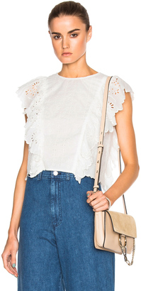Sea Soft Eyelet Top $295 thestylecure.com
