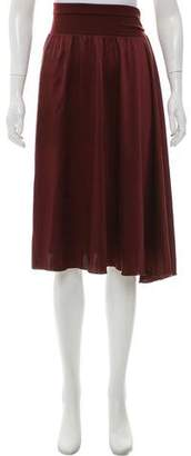 Rozae Nichols Silk Knee-Length Skirt