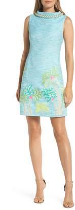 Lilly Pulitzer R) Portia Tweed Sheath Dress