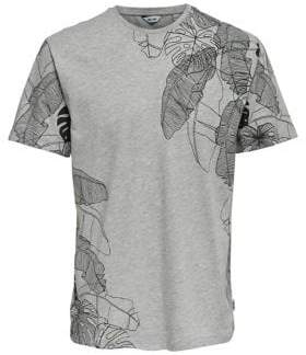 ONLY & SONS Andy Printed Cotton Tee