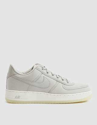 Nike Force 1 Low Retro Canvas Sneaker in Light Bone