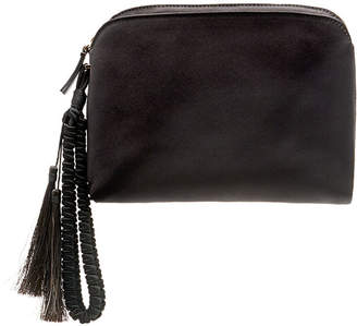 The Row Satin Tassel Wristlet Clutch Bag