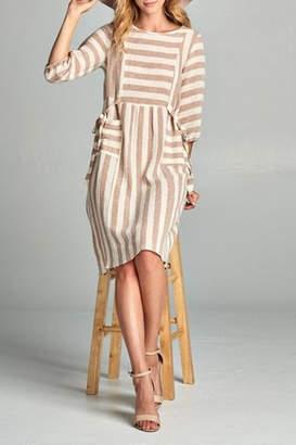 Co Hailey & Stripe Pocket Dress