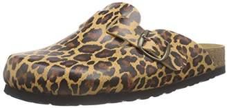 Lico Women's Bioiline Cloc Cold Lined Low House Shoes Brown Size: 6