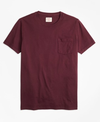Brooks Brothers Garment-Dyed T-Shirt