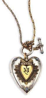Alexander McQueenAlexander McQueen Heart Locket Necklace