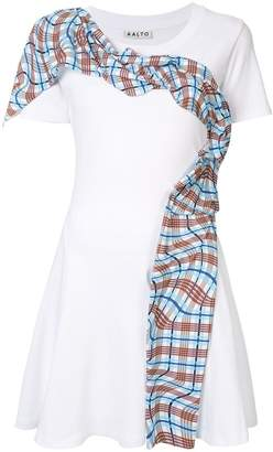 Aalto draped pleat dress