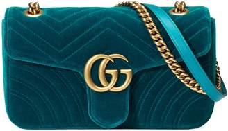 Gucci GG Marmont velvet shoulder bag