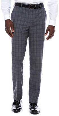 Jf J.Ferrar JF Men's Stretch Woven Flat-Front Slim Fit Suit Pants