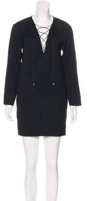 IRO Anicie Long Sleeve Mini Dress w/ Tags