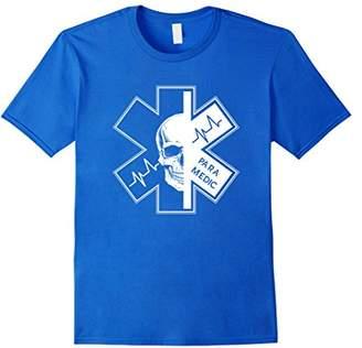 Paramedic T Shirt - Cool EMS Shirt With a Skull