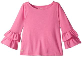 Lilly Pulitzer Mazie Top Girl's Clothing