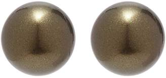 Kenneth Jay Lane Glass pearl stud earrings