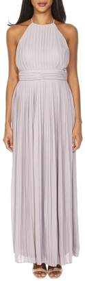 TFNC Serene Sleeveless Pleat Gown