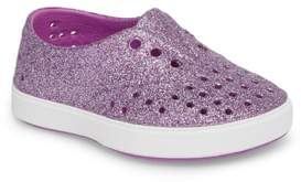 Native Miller Sparkly Perforated Slip-On