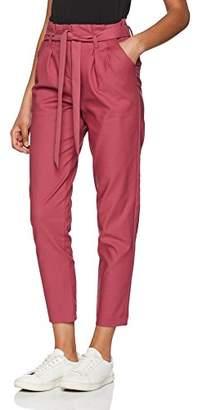 Vila CLOTHES Women's Vibeate Hw 7/8 Pant Trouser,(Manufacturer Size: 34)