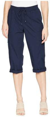 Chaps Stretch Cotton Capri Pant Women's Casual Pants
