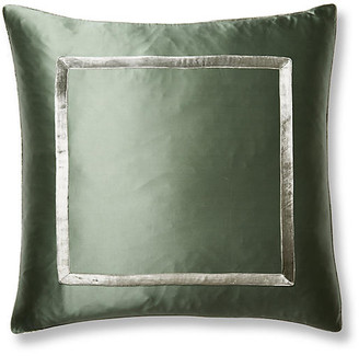 At One Kings Lane I Kookoon Velvet Euro Sham Moss