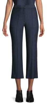 Tibi Jane Pinstripe Crop Pants