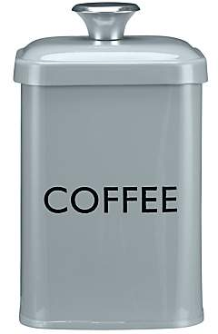 John Lewis & Partners Enamel Coffee Canister