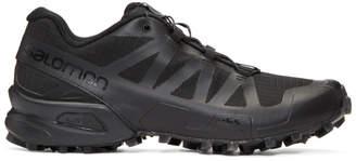 11 By Boris Bidjan Saberi Black Salomon Edition Transparent Speedcross Sneakers