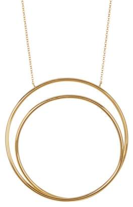 Argentovivo 18K Gold Plated All Around the World Pendant Necklace