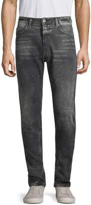 Diesel Deep Zip Straight Jeans