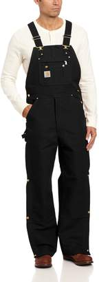 Carhartt Men's Zip To Thigh Bib Overall Unlined