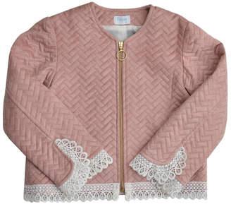 Foque Pink Buckskin Jacket