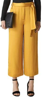 Whistles Belted Wide-Leg Pants