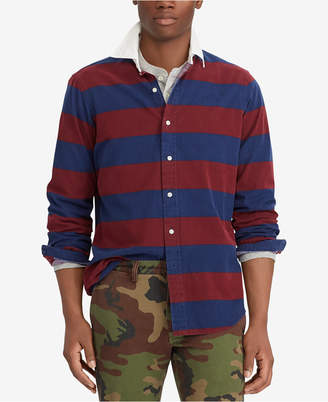 Polo Ralph Lauren Men's Classic-Fit Striped Oxford Shirt