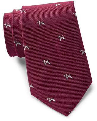 Tommy Hilfiger Large Dog Silk Tie