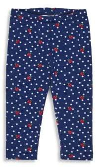 Florence Eiseman Little Girl's Ladybug Polka Dot Leggings