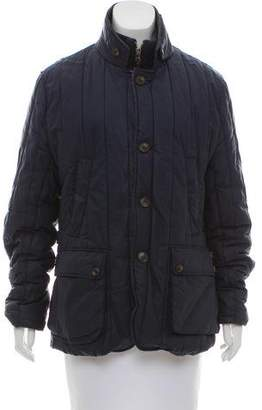 Ted Baker Quilted Zip-Up Jacket