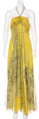 Etro Printed Evening Dress w/ Tags