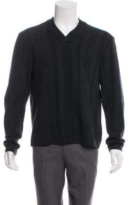 Theory Wool Striped Sweater