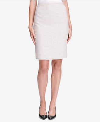 Calvin Klein Petite Tweed Skirt