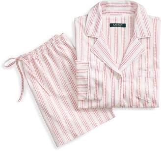 Ralph Lauren Cotton Boxer Short Pajama Set
