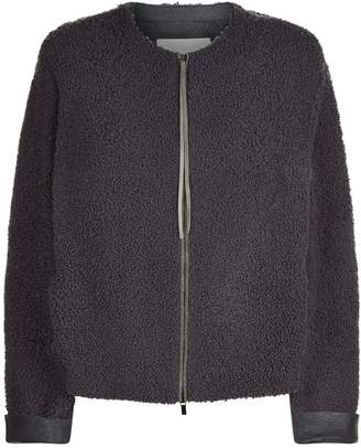 Fabiana Filippi Shearling Chain Trim Jacket