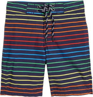 J.Crew crewcuts by Rainbow Stripe Board Shorts