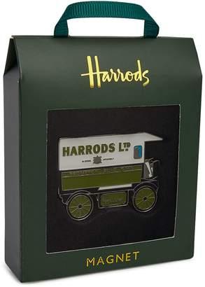 Harrods Metal Van Magnet
