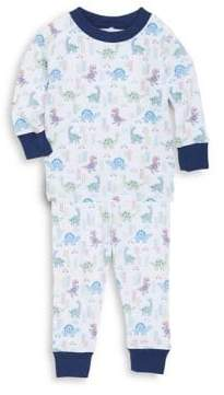 Kissy Kissy Baby Boy's& Little Boy's Two-Piece Dino Pajama Top& Bottom Set