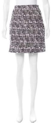 Giamba Tweed Mini Skirt w/ Tags