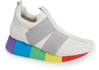 Donald J Pliner Prix Rainbow Platform Sneaker