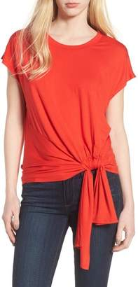 Trouve Knot Front Tee