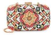 Sam Edelman Floral Embroidery Convertible Clutch