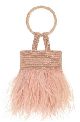 Sachin + Babi Lulu Bag - Pink feather