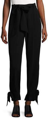 Torn By Ronny Kobo Self-Tie Trouser